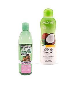 TropiClean Hypo Allergenic Puppy Shampoo and Fresh Breath Or