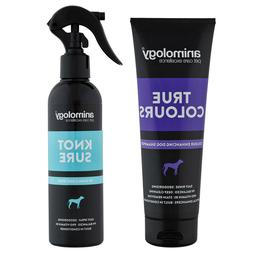 Animology True Colours Enhancing Dog Shampoo and Knot Sure d