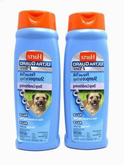 Hartz Ultra Guard Plus Flea Tick Dog Shampoo Deep Conditioni