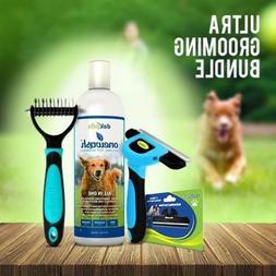 DakPets Ultra Pet Groomer Bundle Dogs Cats Pet Supplies Comb