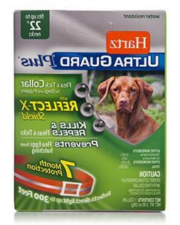 Hartz UltraGuard Plus Reflective Orange Flea & Tick Collar f