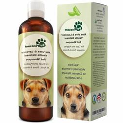 Vanilla Oatmeal Dog Shampoo with Aloe Vera - Colloidal Oatme