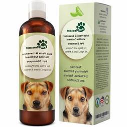 Vanilla Oatmeal Dog Shampoo with Aloe Vera - Colloidal Oatme