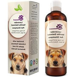 Vanilla Oatmeal Dog Shampoo with Lavender - Colloidal Oatmea