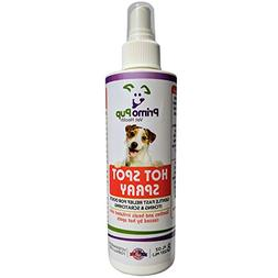 Primo Pup Vet Health - Hot Spot Spray for Dogs - with Tea Tr