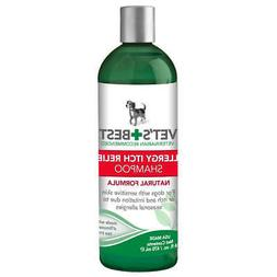 VET'S BEST 3165810345 Green ALLERGY ITCH RELIEF DOG SHAMPOO