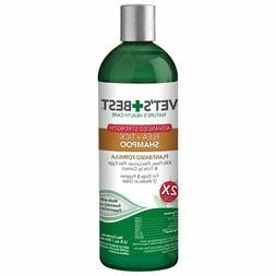 Vet's Best Flea and Tick Advanced Strength Dog Shampoo 12 oz