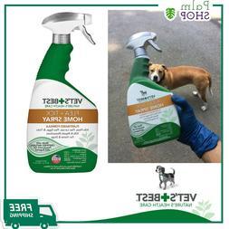 Vet's Best Flea & Tick Pet & Home Spray Dogs  Natural Pet He