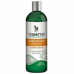 Vet's Best Flea Itch Relief Dog Shampoo 16oz Green