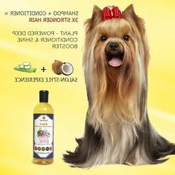SunGrow Vet Trusted 2-in-1 100% Organic, Medicinal Pet Shamp