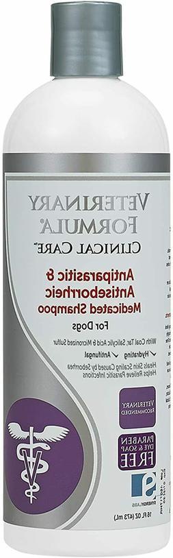 Veterinary Clinical Antiparasitic & Antiseborrheic Medicated