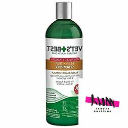 Vet's Best Flea and Tick Advanced Strength Dog Shampoo | F