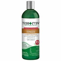 Vet's Best Flea and Tick Advanced Strength Dog Shampoo   F