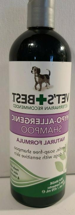 VETS BEST HYPO ALLERGIC SHAMPOO NATURAL FORMULA 16 fl oz