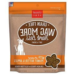 Cloud Star Wag More Bark Less Soft Chewy Grain Free Peanut B