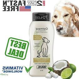 WAHL OATMEAL DOG SHAMPOO PET Dry Itching Irritated Skin Anim
