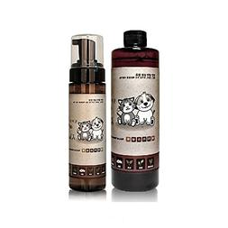 Waterless Pet Dog Cat Deodorizing Shampoo 98% Natural Ingred