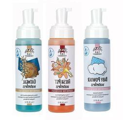 Waterless Pet Shampoo Foam Rinse less Dog Grooming 7.1oz Bot