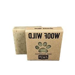 Woof Wild Organic, Vegan, Cruelty Free, Dog Shampoo Bar for